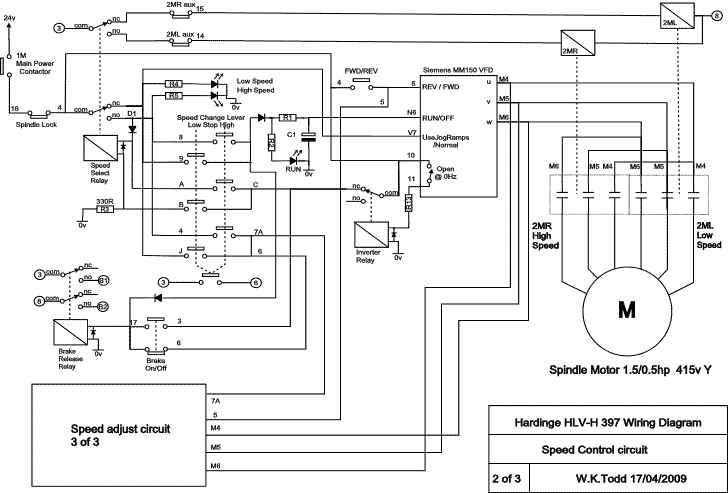 vfd pump wiring schematic