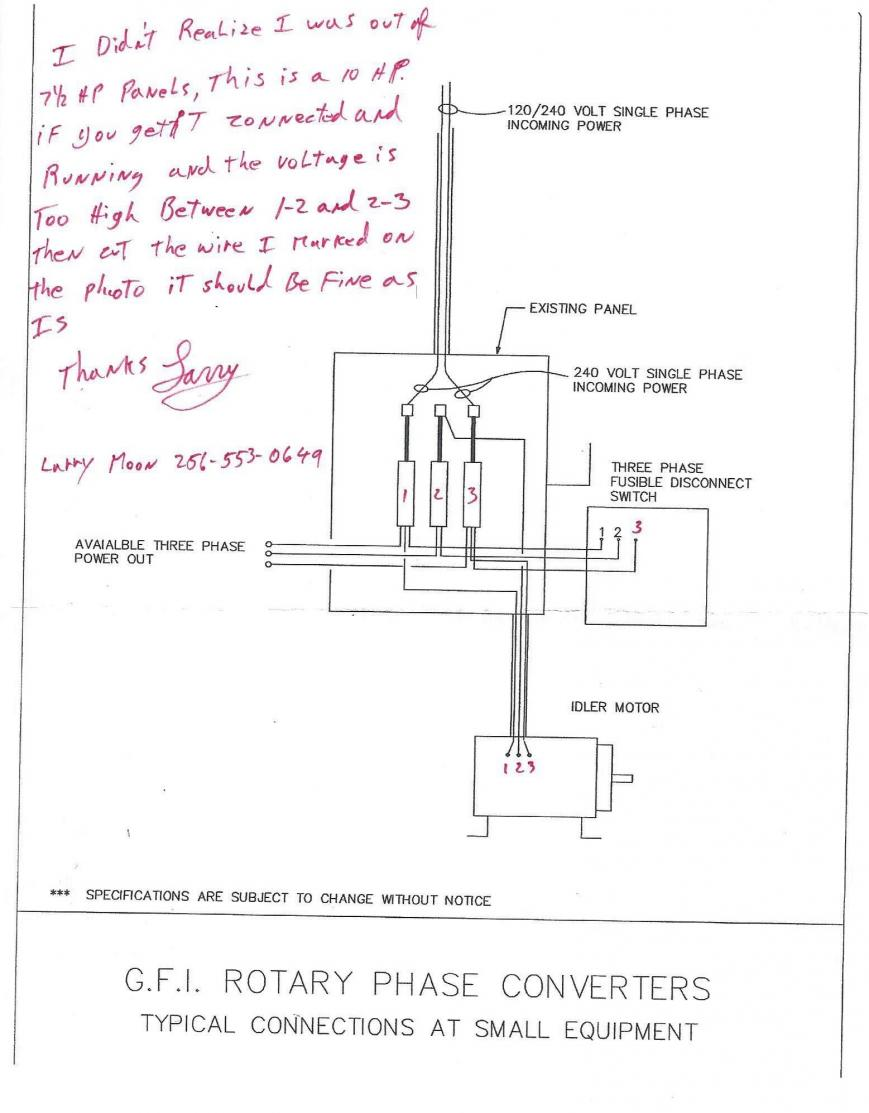 Add A Phase Wiring Diagram Free For You Power Converter Ronk 35 3 Schematics