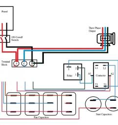 rotary phase converter help and troubleshooting page 2 solid state phase converter wiring diagram [ 990 x 926 Pixel ]