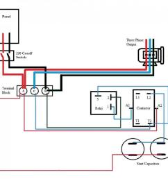 rotary phase converter help and troubleshooting page 2 3 phase car ramp wiring diagram [ 1013 x 947 Pixel ]