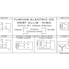 Furnas Drum Switch Wiring Diagram Traffic Light Cycle Need Help Setting Up The Forward / Reverse On My Split Phase Motor