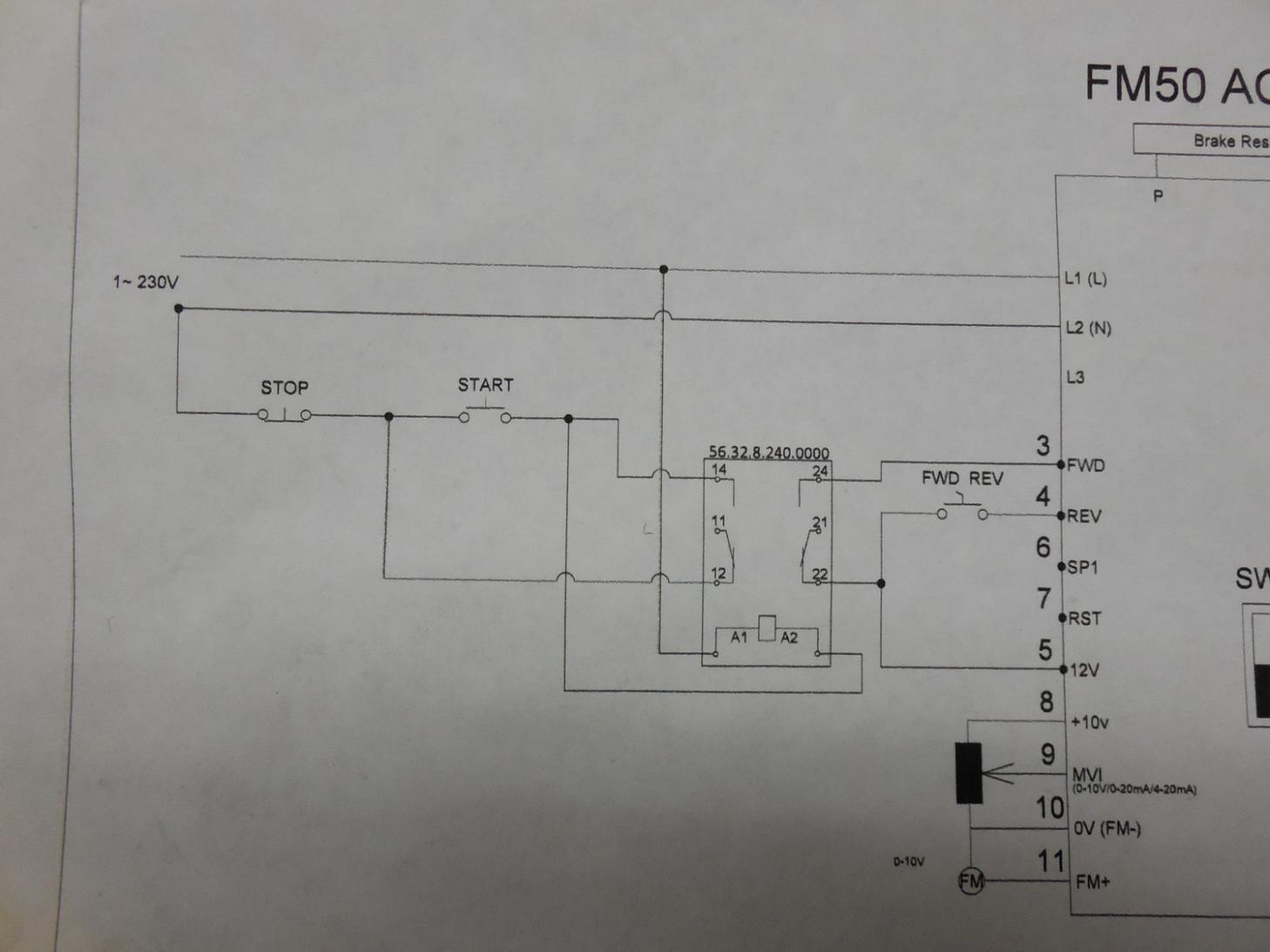 start stop jog wiring diagram bei encoder teco switch 26 images