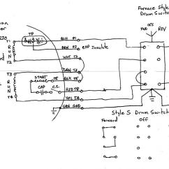 Single Phase 220 Volt Wiring Diagram Nissan Altima Parts A Motor To Drum Switch Page 2