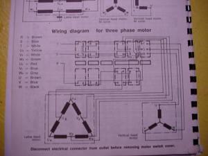 single phase to 3phase VFD on Dahlander wired motor (lathe)
