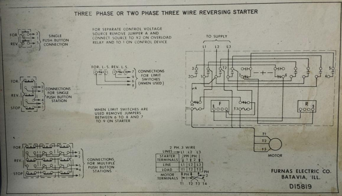 Starter Wiring Diagram On Wiring Diagram For 240 Volt 1 Phase Switch