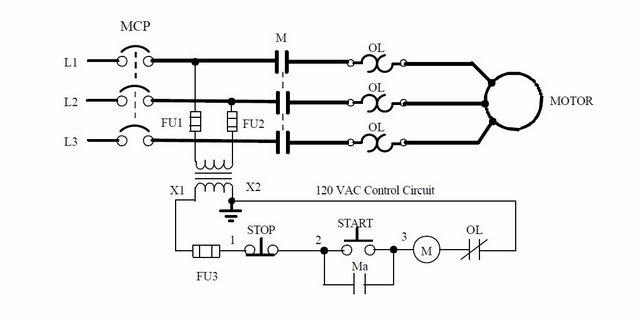 stop start motor wiring diagram