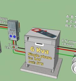240 v to 575 v 3 phase converter project rotophase jpg build a phase converter wiring diagram  [ 1223 x 697 Pixel ]
