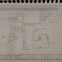 240v Motor Wiring Diagram Single Phase 2004 Ford Taurus Starter Connecting Vfd To 2-speed Cold Saw