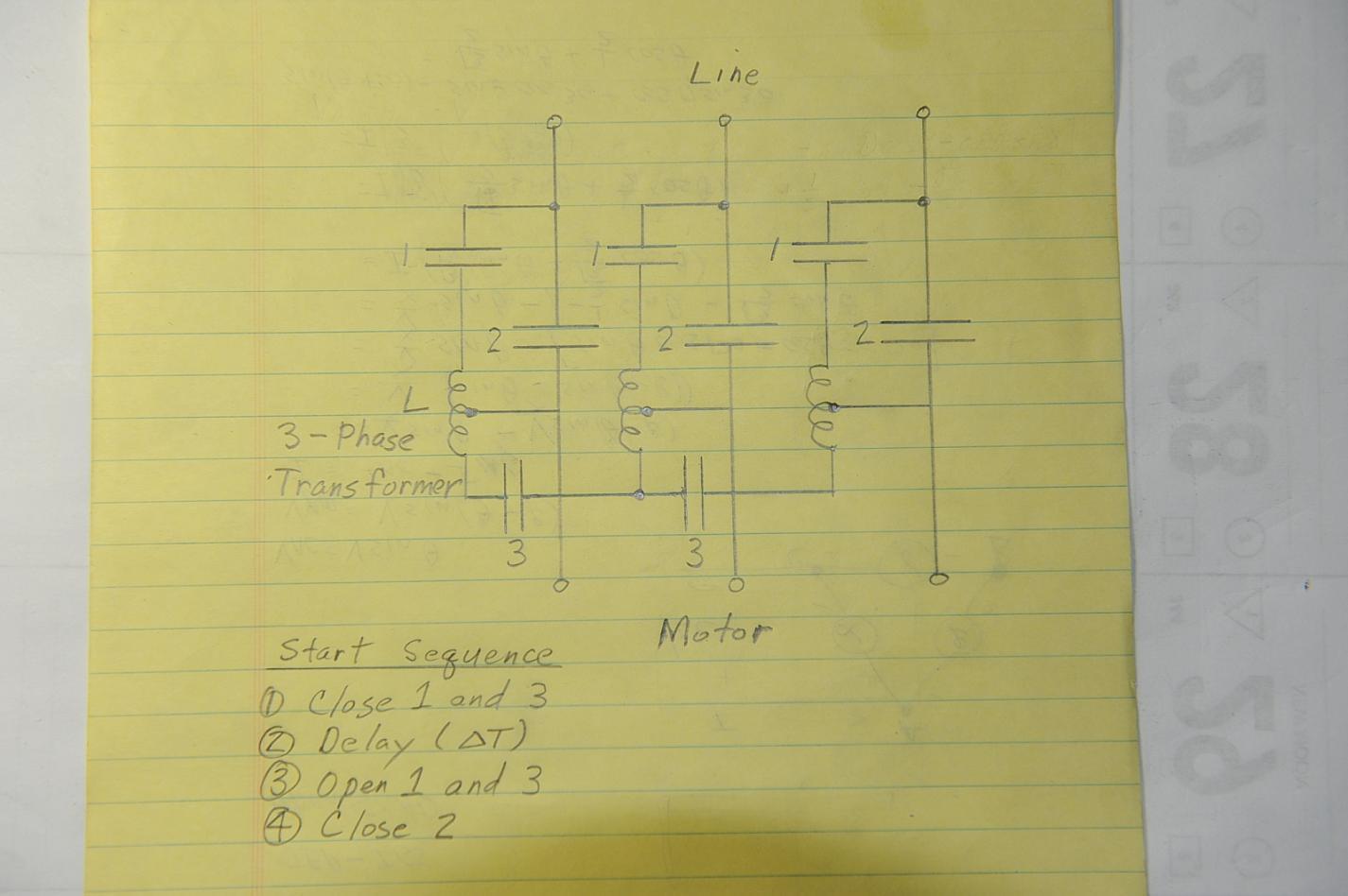Starter Wiring Diagram Also Rotary Phase Converter Wiring Diagram