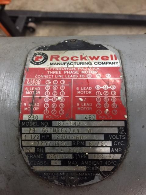 3 Phase Diagram Wiring Rockwell Horz Vert Combo Mill Wiring W Vfd