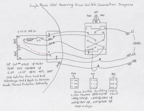 small resolution of help with wiring a drum switch for 220v motor 220v motor switch diagram