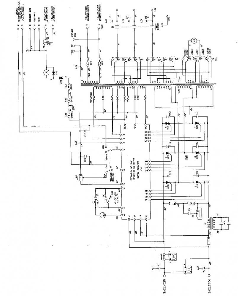 Miller DeltaWeld 451 Haas-Kamp conversion issues...