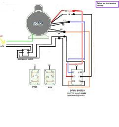 220v single phase wiring forward reverse switch 220 volt wiring 220v switch wiring [ 1000 x 1000 Pixel ]