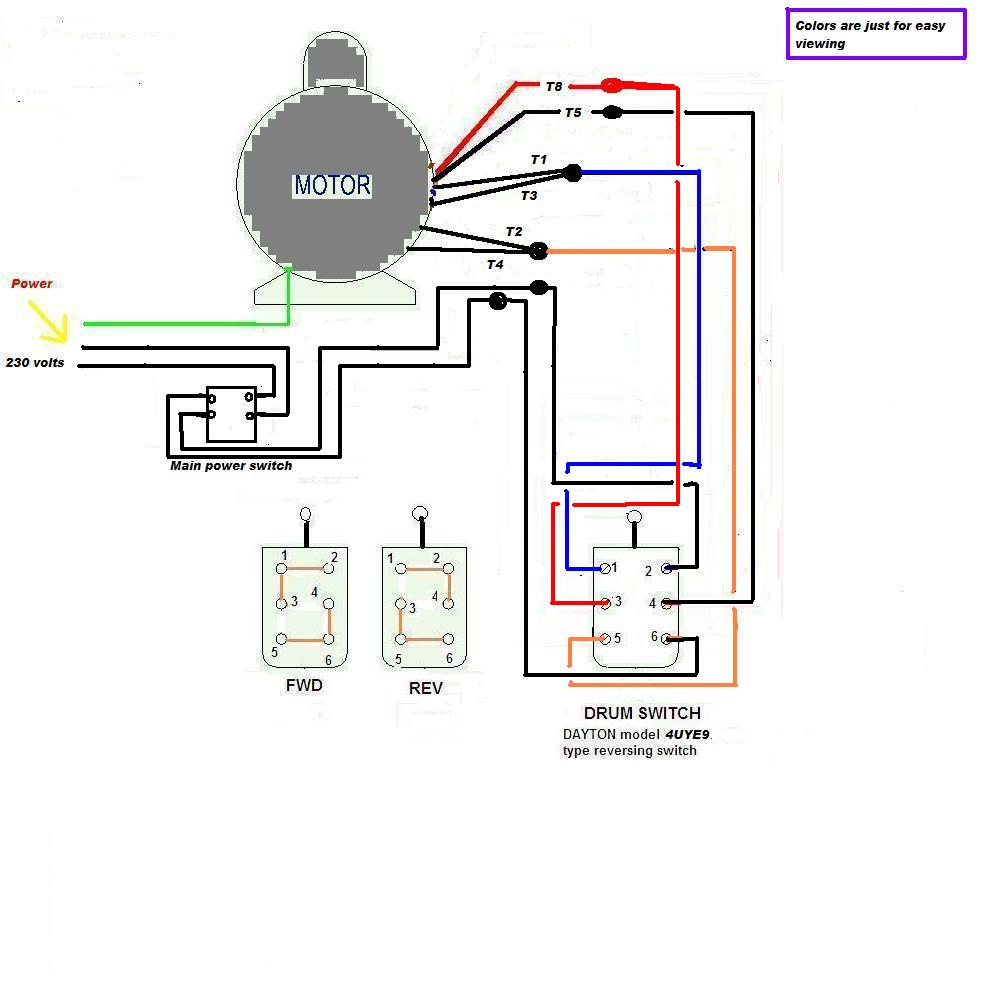 hight resolution of single phase reversing motor wiring diagram for 220 wiring rh 77 jessicadonath de cutler hammer reversing starter wiring diagram ab reversing starter