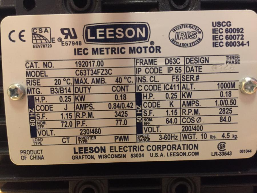 Phase 480 Volt Motor Wiring Diagram Motor Repalcement Parts And