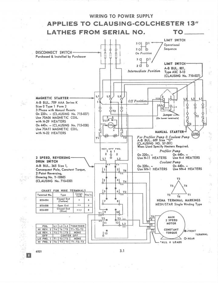 Abb Acs550 Wiring Diagram Help With Clausing Colchester And Vfd