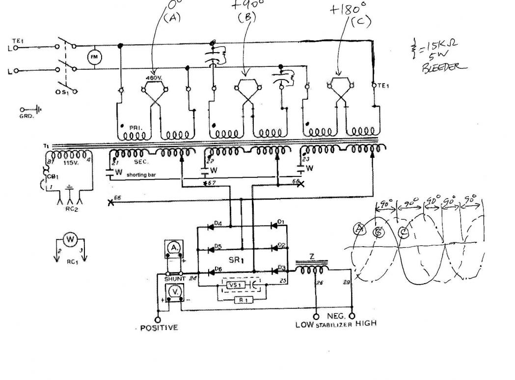 Converting A 3 Phase Welder To Single Phase