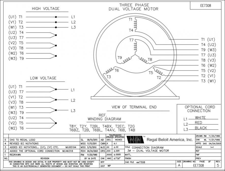 Wiring 3ph motor question