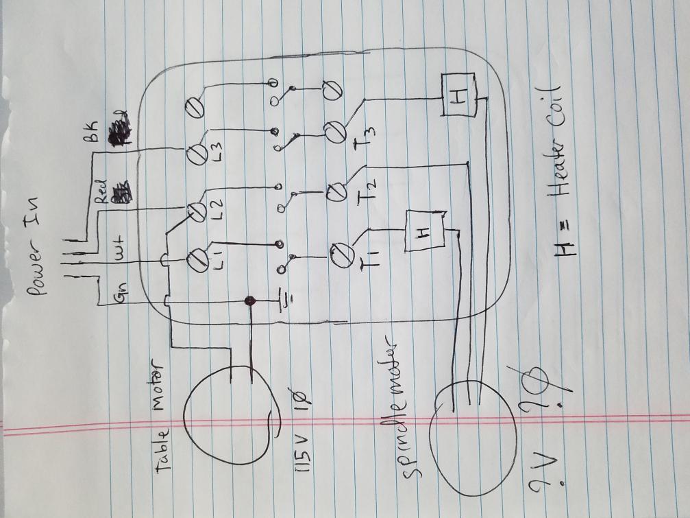 110 v 3 phase motor
