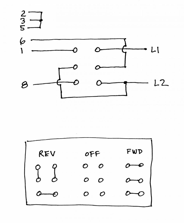 on dayton 2x441a drum switch wiring diagram model