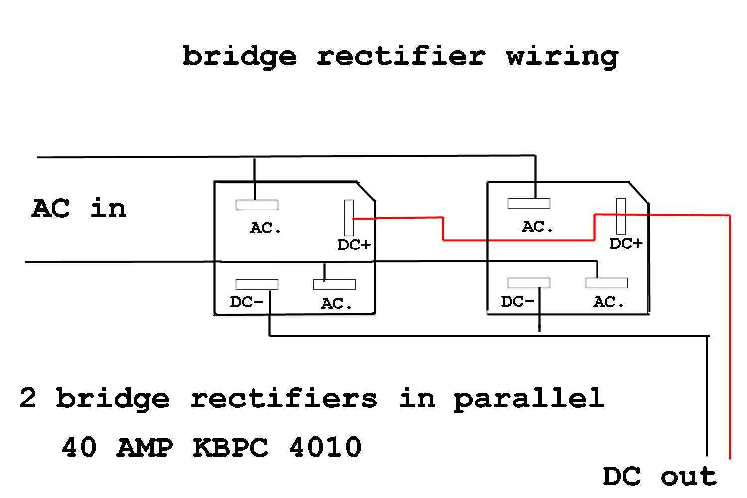 Bridge Rectifier Wiring Diagram. Cathodic Protection