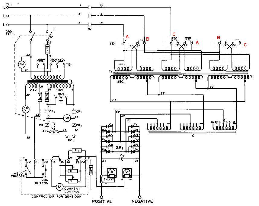 miller 250 wiring diagram