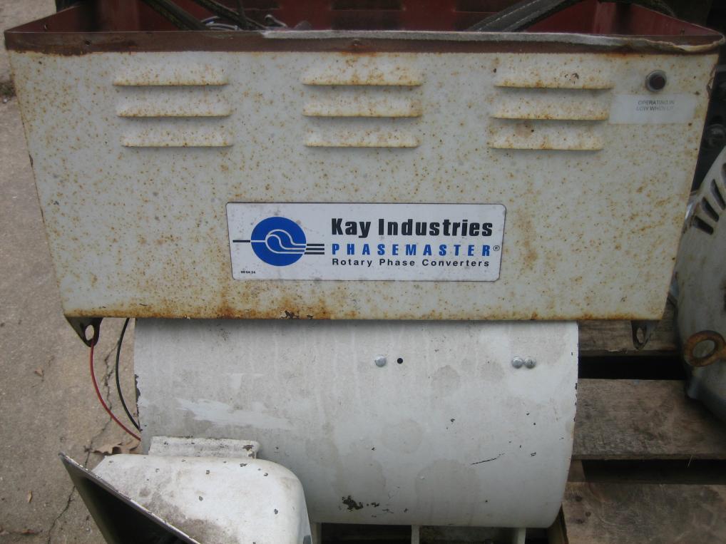 Kay Industries Phasemaster Rotary Phase Converter