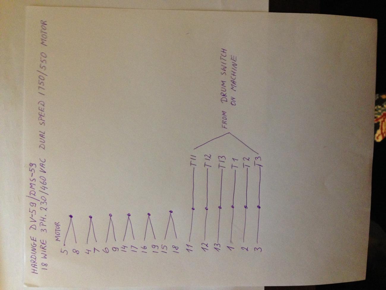 Speed Three Phase Motor Wiring Diagram On 5 Lead Motor Wiring Diagram