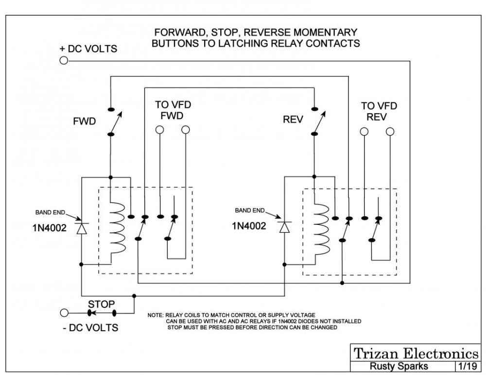 medium resolution of here is a simple relay logic circuit that could be used if you don t already have one sorry about the us schematic symbols don t have this with de style