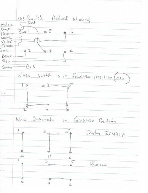 Dayton 2x443 Wiring Diagram. . Wiring Diagram on