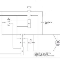 Wiring Diagram Of Single Phase Motor Starter Server Power Supply Modifying Three Motors For Use Steinmetz Connection Jpg
