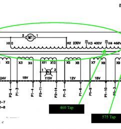 875 xfrmrtaps jpg 875 xfrmrtaps 400 460volt jpg plasma cutter electrical help needed converting 220 single phase  [ 1046 x 820 Pixel ]