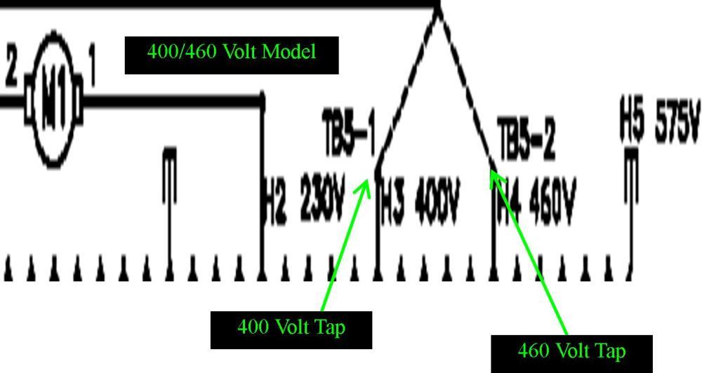 medium resolution of 875 xfrmrtaps jpg 875 xfrmrtaps 400 460volt jpg