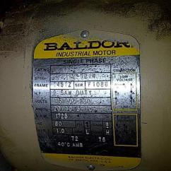 Baldor Wiring Diagram 115 230 7 Way Rv Plug 5 Hp Motor | Get Free Image About