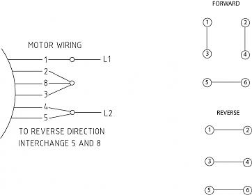 reversing drum switch wiring diagram 2003 nissan patrol radio schematic today to reverse single phase motor