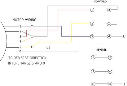 century ac motor wiring diagram p38 air suspension drum switch to reverse single phase info lathe jpg