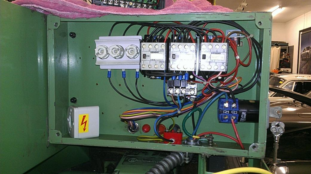 Teco Vfd And Emco V13 Lathe Wiring Question