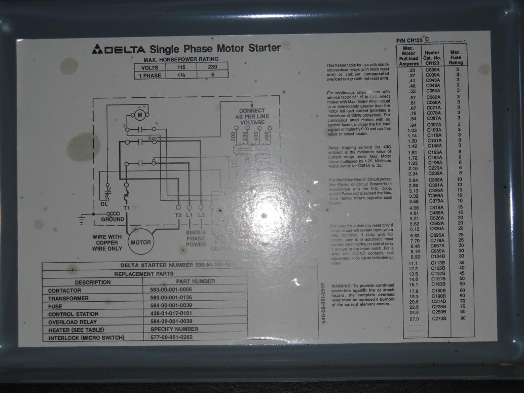 Wire Delta Motor Wiring Diagram Motor Repalcement Parts And Diagram