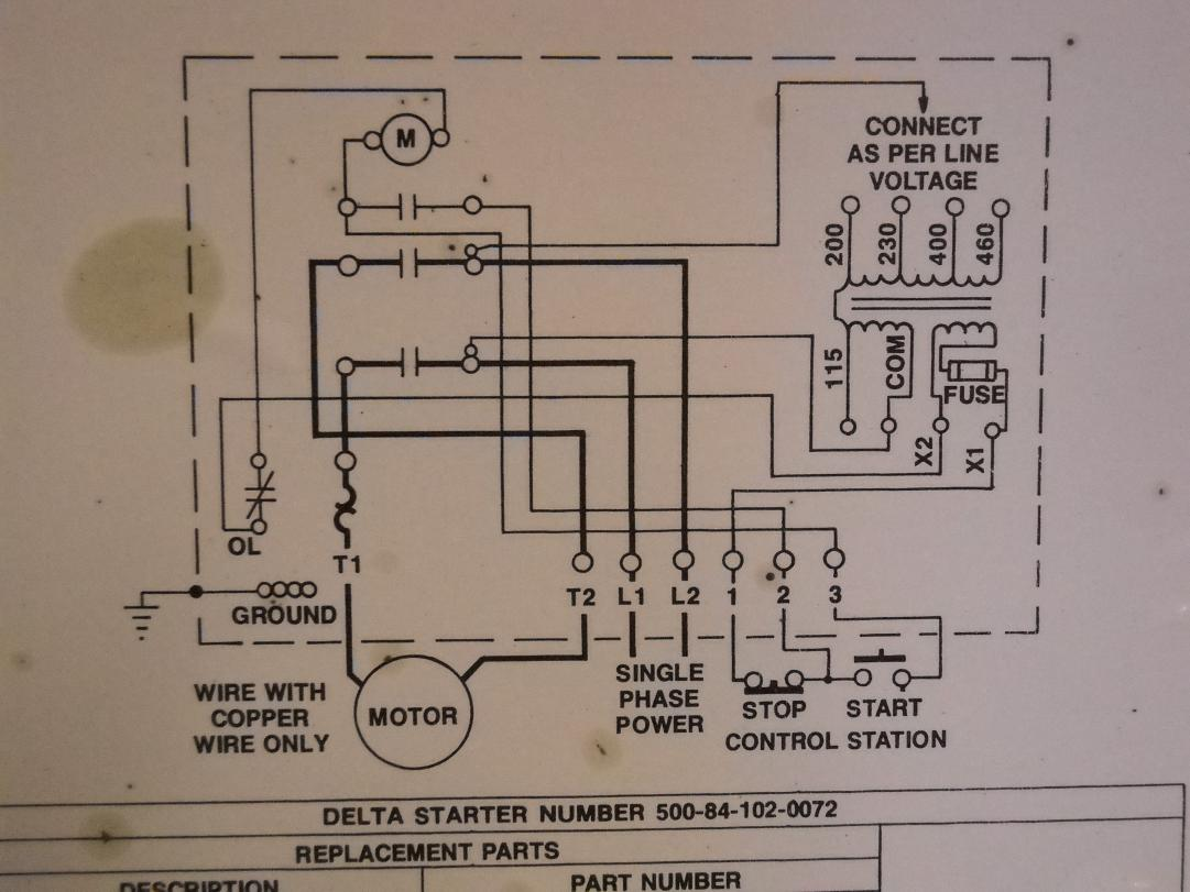71354d1362357411 how hook up power delta 14 radial saw magnetic starter box schematic_close up?resized665%2C499 square d transformer wiring diagram efcaviation com square d homeline load center wiring diagram at gsmx.co