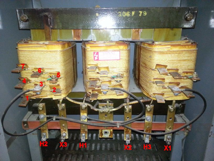 3 Phase Motor Connection Diagram 3 Phase Transformer Y Input Delta Out Hook Up Neutral
