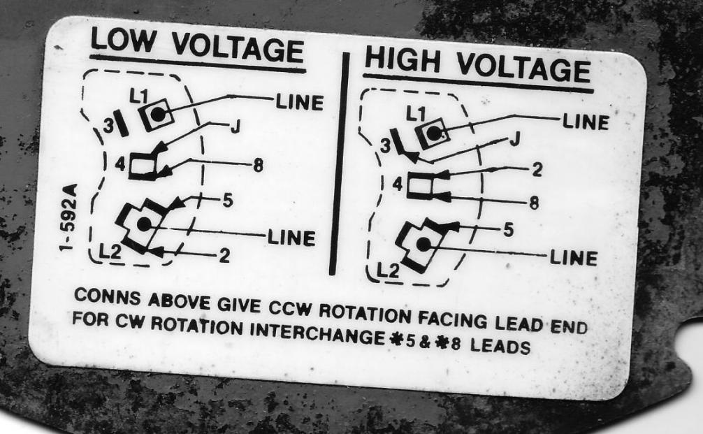 Single Phase 220v Motor Wiring Diagram
