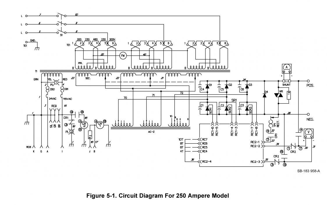 Welding Transformer Wiring Diagram Explained Diagrams 3 Phase Machine Circuit Periodic Receptacle Source