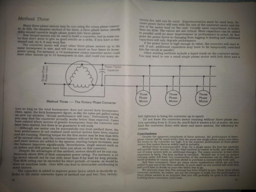 rotary phase converter wiring diagram regulator designs and plans page 8