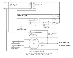 Here Are Warez Files: ROTARY PHASE CONVERTER WIRING DIAGRAM