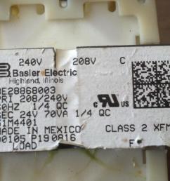 thread need help wiring 240v 24v transformer for rpc start curcuit  [ 1276 x 720 Pixel ]