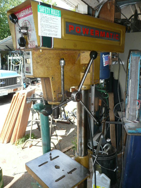 Powermatic 1150 Drill Press Parts