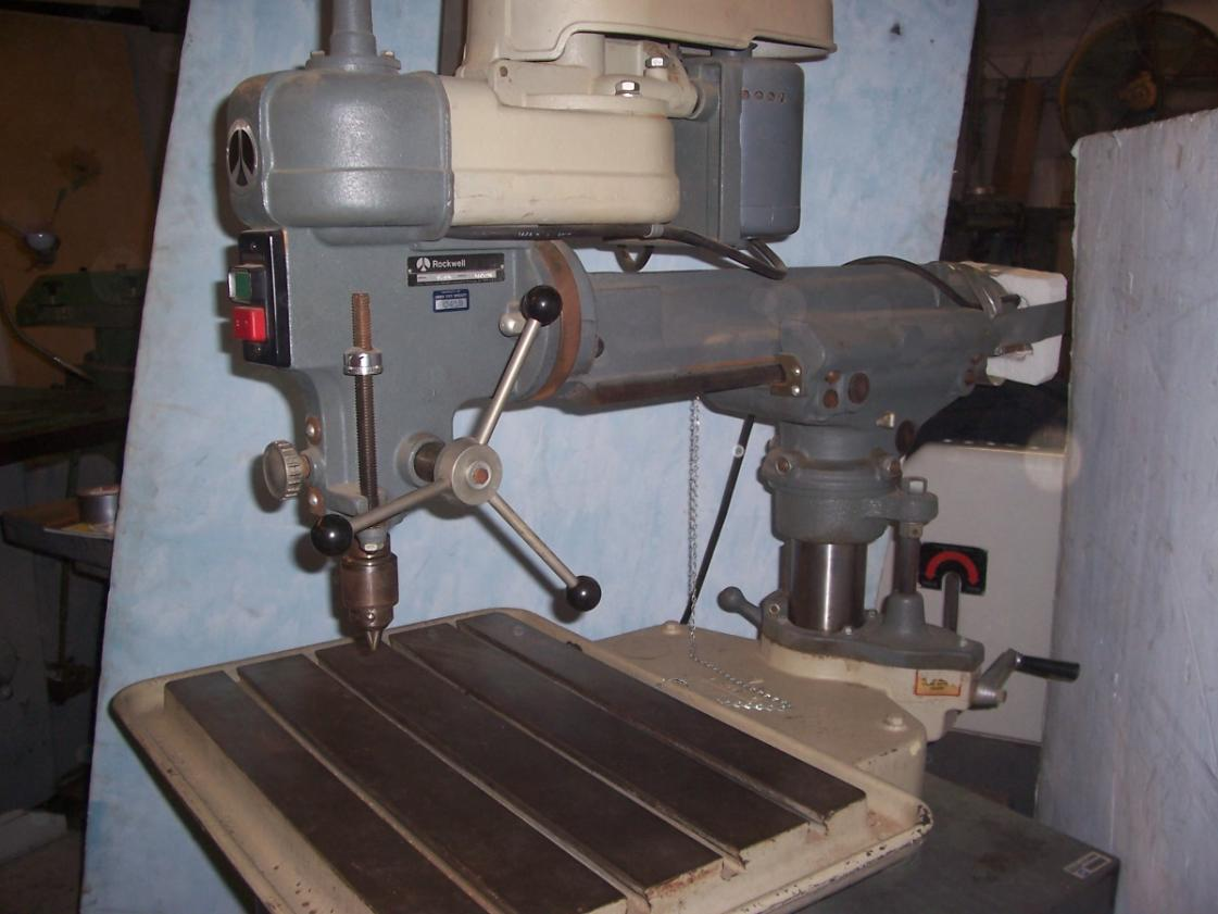 Rockwell Delta Radial Arm Drill