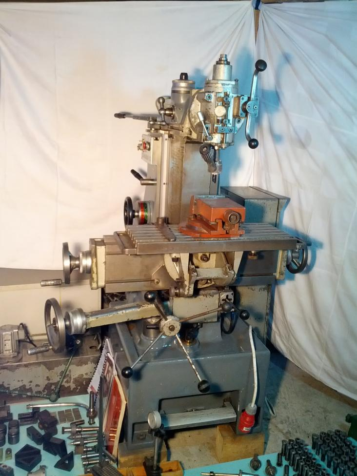 Schaublin 13 Precision Universal Milling Machine Various