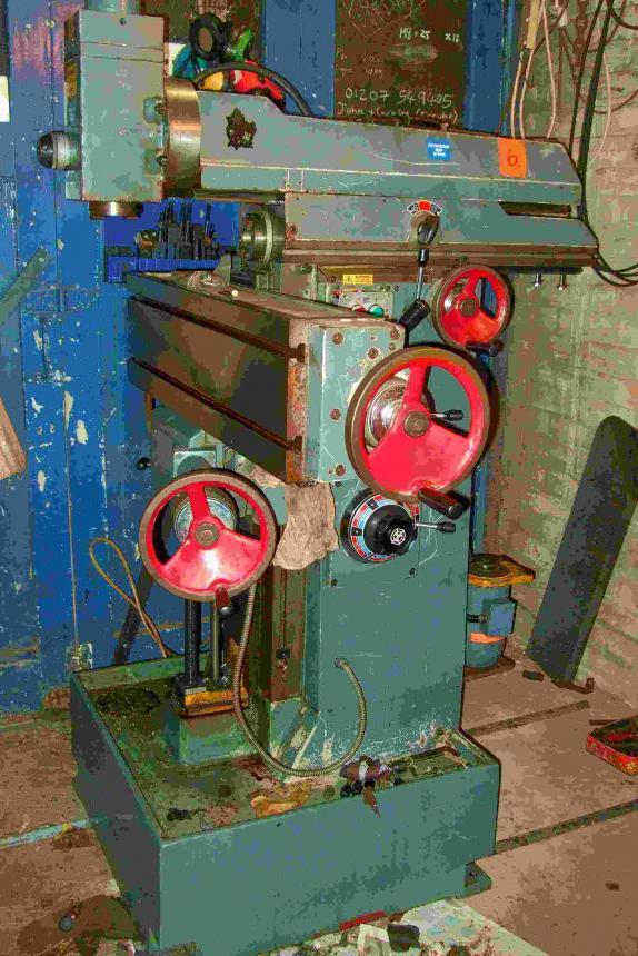 Ajax Milling Machine Manual