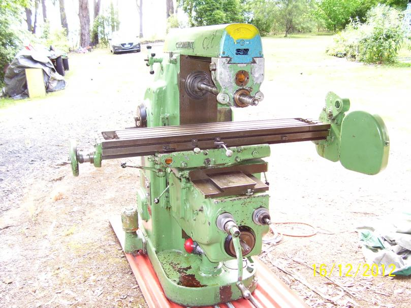 Cincinnati 2 Horizontal Milling Machine